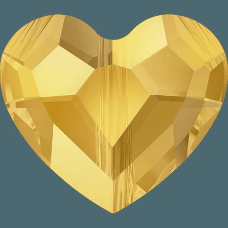 Swarovski 5741 - Love, CR Metallic Sunshine