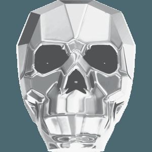 Swarovski 5750 - Skull, CR Light Chrom