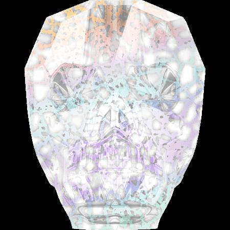 Swarovski 5750 - Skull, CR White Patina