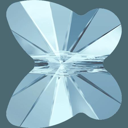 Swarovski 5754 - Butterfly, Aquamarine