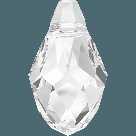 Swarovski 6007 - Small Briolette, Crystal