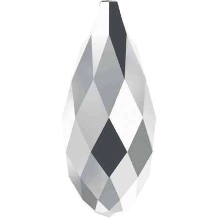 Swarovski 6010 - Briolette, CR Light Chrom