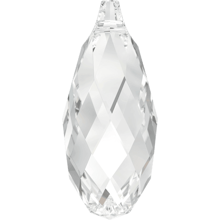 Swarovski 6010 - Briolette, Crystal
