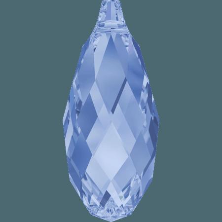 Swarovski 6010 - Briolette, Light Sapphire
