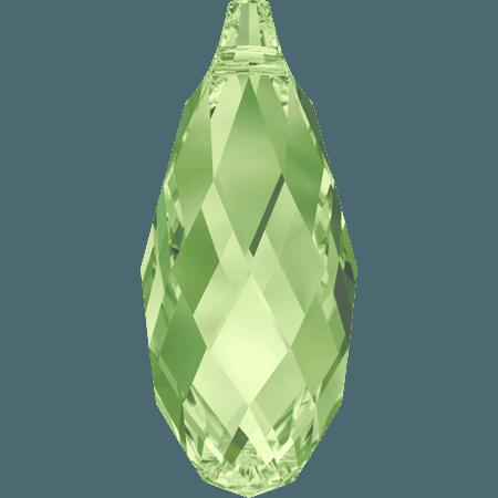Swarovski 6010 - Briolette, Peridot
