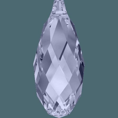 Swarovski 6010 - Briolette, Provence Lavender