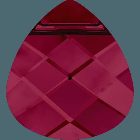 Swarovski 6012 - Flat Briolette, Ruby