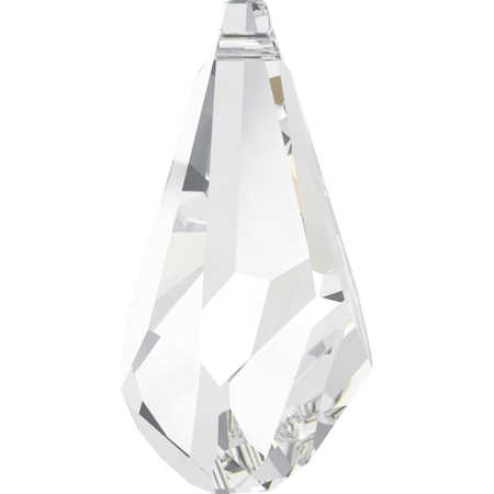 Swarovski 6015 - Polygon Drop, Crystal