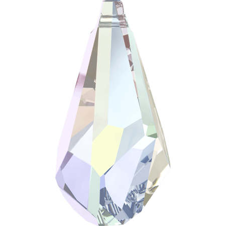Swarovski 6015 - Polygon Drop, Crystal AB