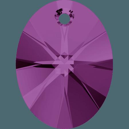 Swarovski 6028 - XILION Oval, Amethyst