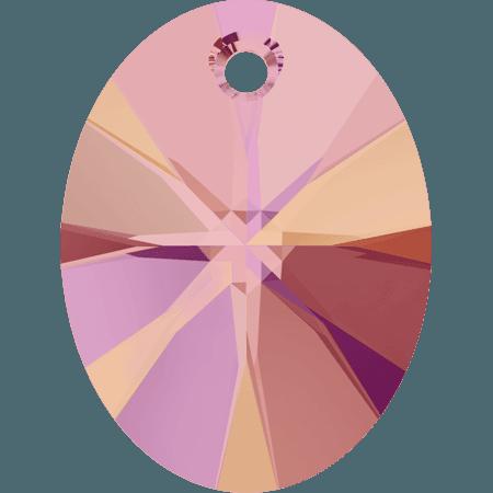 Swarovski 6028 - XILION Oval, CR Astral Pink