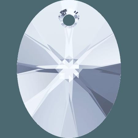 Swarovski 6028 - XILION Oval, CR Blue Shade