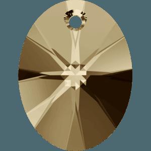 Swarovski 6028 CR Golden Shadow
