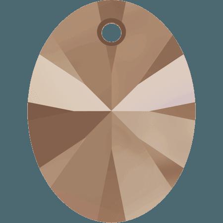 Swarovski 6028 - XILION Oval, CR Rose Gold