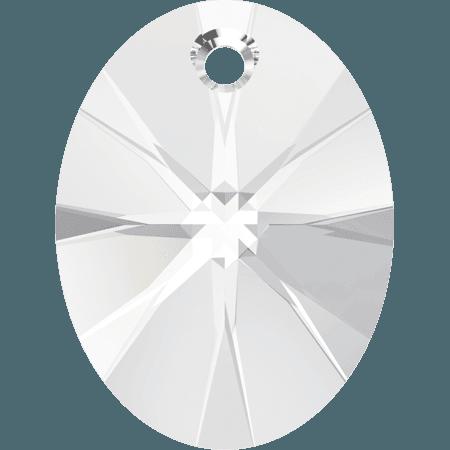 Swarovski 6028 - XILION Oval, Crystal