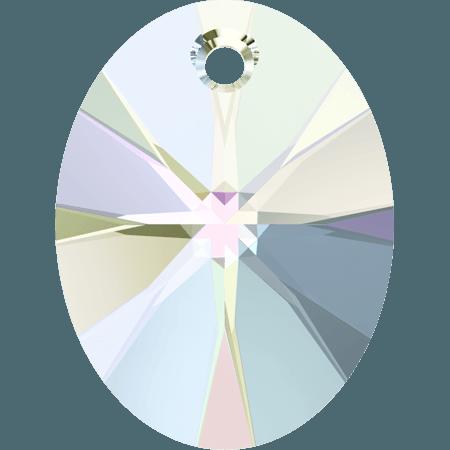 Swarovski 6028 - XILION Oval, Crystal AB