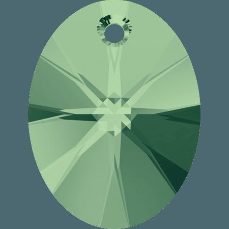 Swarovski 6028 - XILION Oval, Erinite