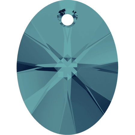 Swarovski 6028 - XILION Oval, Indicolite