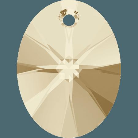 Swarovski 6028 - XILION Oval, Light Silk