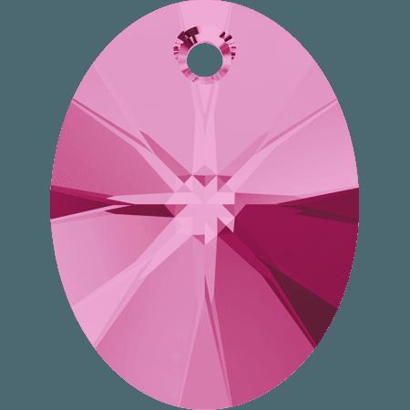 Swarovski 6028 - XILION Oval, Rose