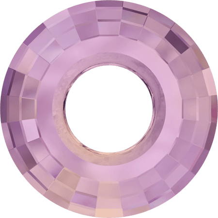 Swarovski 6039 - Disk, CR Lilac Shadow