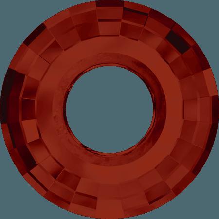 Swarovski 6039 - Disk, CR Red Magma