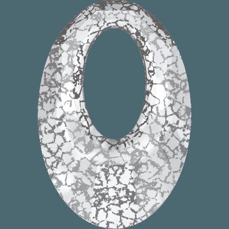 Swarovski 6040 - Helios, CR Silver Patina