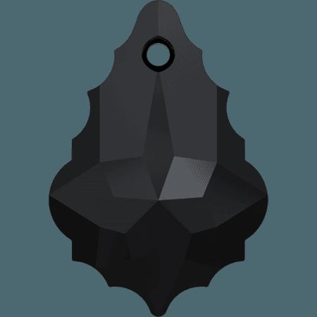 Swarovski 6090 - Baroque, Jet