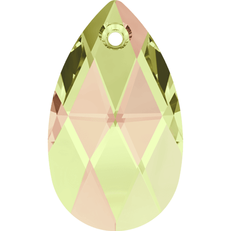 Swarovski 6106 - Pear-shaped, CR Luminous Green