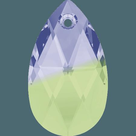 Swarovski 6106 - Pear-shaped, Provance Lavender - Shrysolite Blend