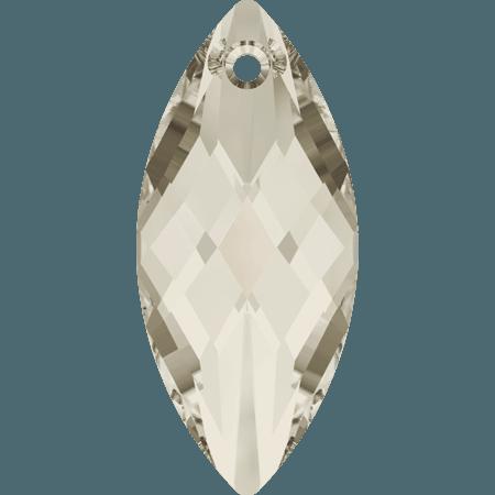 Swarovski 6110 - Navette, CR Silver Shade