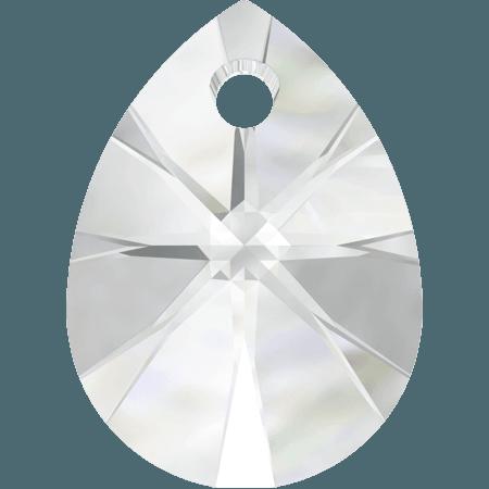 Swarovski 6128 - XILION Mini Pear, Crystal
