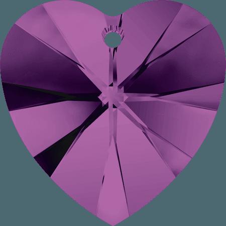 Swarovski 6228 - XILION Heart, Amethyst
