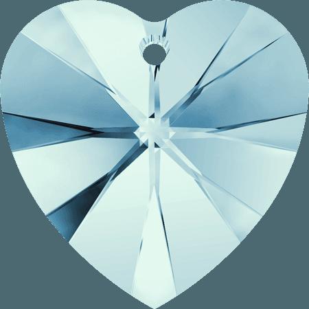 Swarovski 6228 - XILION Heart, Aquamarine