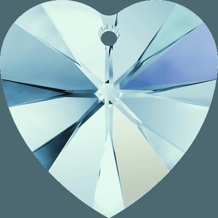 Swarovski 6228 - XILION Heart, Aquamarine AB