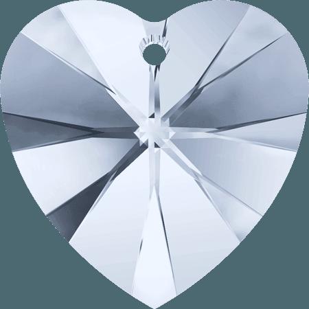 Swarovski 6228 - XILION Heart, CR Blue Shade