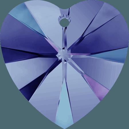 Swarovski 6228 - XILION Heart, CR Heliotrope