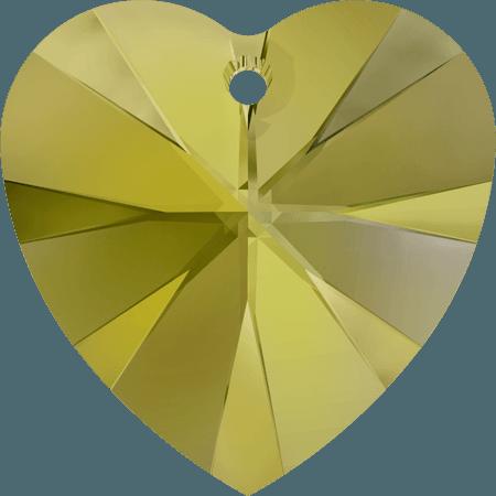 Swarovski 6228 - XILION Heart, CR Iridescent Green