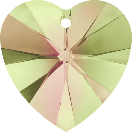 Swarovski 6228 - XILION Heart, CR Luminous Green