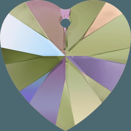 Swarovski 6228 - XILION Heart, CR Paradise Shine
