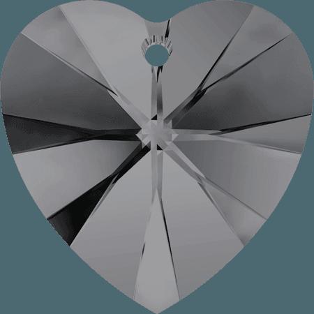 Swarovski 6228 - XILION Heart, CR Silver Night