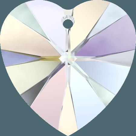 Swarovski 6228 - XILION Heart, Crystal AB