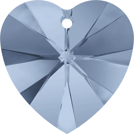 Swarovski 6228 - XILION Heart, Denim Blue