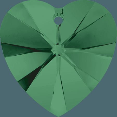 Swarovski 6228 - XILION Heart, Emerald