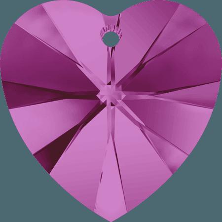 Swarovski 6228 - XILION Heart, Fuchsia