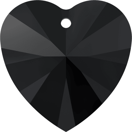 Swarovski 6228 - XILION Heart, Jet