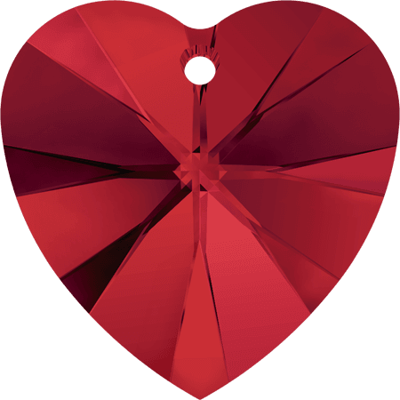 Swarovski 6228 - XILION Heart, Light Siam