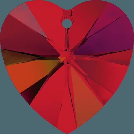 Swarovski 6228 - XILION Heart, Light Siam AB