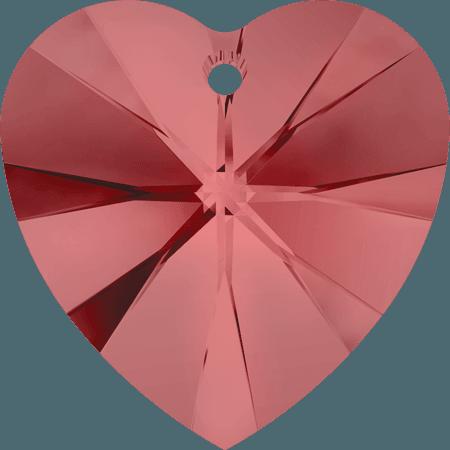 Swarovski 6228 - XILION Heart, Padparadscha