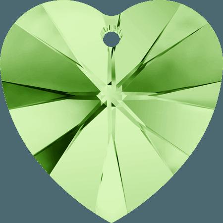 Swarovski 6228 - XILION Heart, Peridot